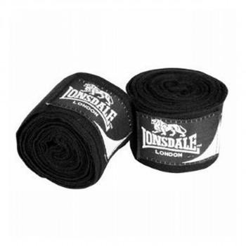 LONSDALE Bandažer LONSDALE 3,5M HANDWRAP30 BLACK - BANDAZE