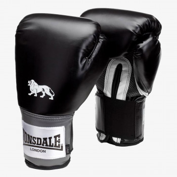 LONSDALE Rukavice LONSDALE PRO TRAIN GLV BLACK 14OZ