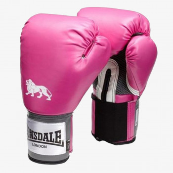 LONSDALE Rukavice LONSDALE PRO TRAIN GLV PINK 12OZ