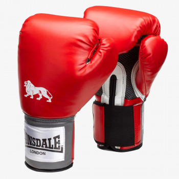 LONSDALE Rukavice LONSDALE PRO TRAIN GLV RED 14OZ
