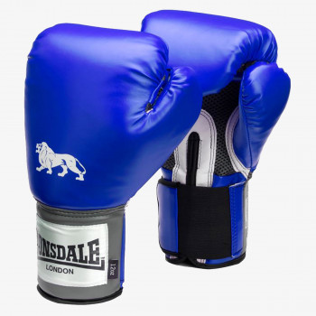 LONSDALE Rukavice LONSDALE PRO TRAIN GLV BLUE 14OZ