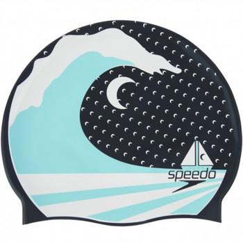 SPEEDO Kapa za plivanje SLOGAN PRINT CAP