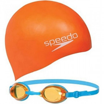 SPEEDO Kapa za plivanje JET JUNIOR SWIM SET
