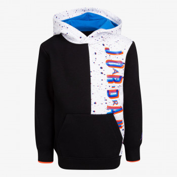 NIKE Dukserica JDB SPACE GLITCH FLEECE PO