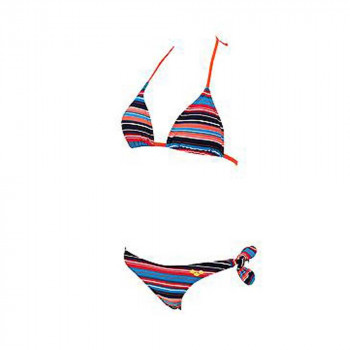 ARENA Kupaći kostim dvodjelni MLT STRIPES SLIDING TRIANGLE TWO-PIECE