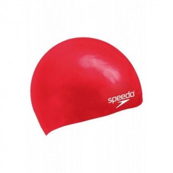 SPEEDO Kapa za plivanje MOULDED SILICONE CAP J RED SU5