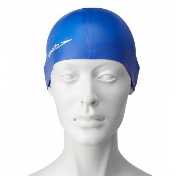 SPEEDO Kapa za plivanje PLAIN FLAT SILICONE CAP JUNIOR TEAM