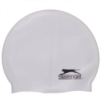 SLAZENGER Kapa za plivanje SLAZ SILICONE CAP SN00 WHITE -