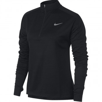 NIKE Dukserica W NK PACER TOP HZ