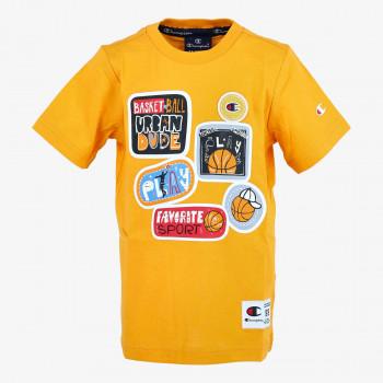 CHAMPION Majica BOYS PATCH T-SHIRT