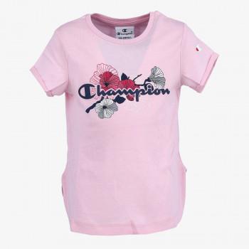 CHAMPION Majica GIRLS FLOWER T-SHIRT