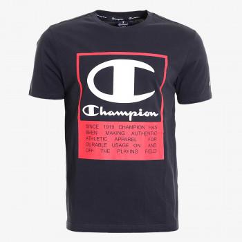 CHAMPION Majica SQUARE LOGO T-SHIRT
