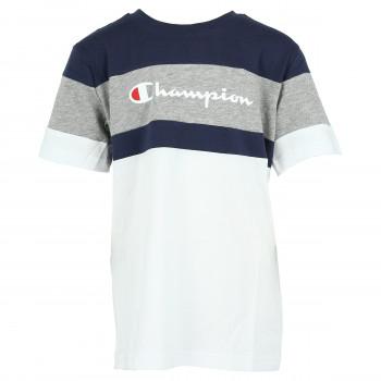 CHAMPION Majica STRIPE T-SHIRT