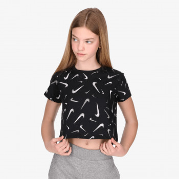 NIKE G NSW TEE CROP SWOOSHES