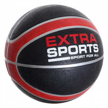 EXTRA SPORTS Lopta EXTRA SPORT RUBBER BASKETBALL  Black 7