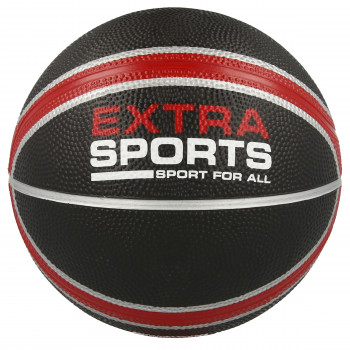 EXTRA SPORTS Lopta EXTRA SPORT RUBBER BASKETBALL  Black 3