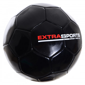 EXTRA SPORTS Lopta EXTRA SPORT FOOTBALL BLACK 5