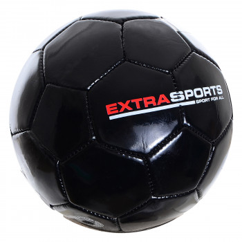 EXTRA SPORTS Lopta EXTRA SPORT FOOTBALL BLACK 2