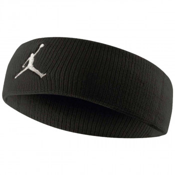 JR NIKE Znojnica JORDAN JUMPMAN HEADBAND BLACK/WHITE