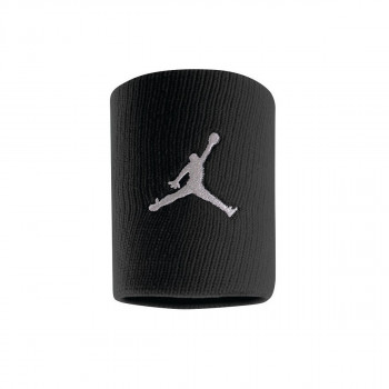 JR NIKE Znojnica JORDAN JUMPMAN WRISTBANDS BLACK/WHITE