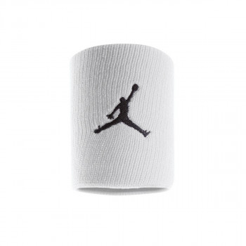 JR NIKE Znojnica JORDAN JUMPMAN WRISTBANDS WHITE/BLACK