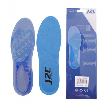 J2C Ulošci J2C GEL INSOLE BLUE WOMAN