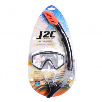 J2C Maska SET MASK AND SNORKEL