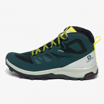 SALOMON Cipele OUTLINE MID GTX GREEN GABLES/MNGR