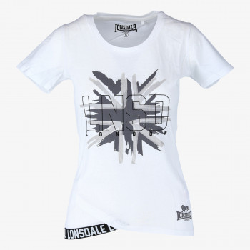 LONSDALE Majica FLAG W TEE