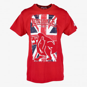 LONSDALE Majica FLAG LION TEE