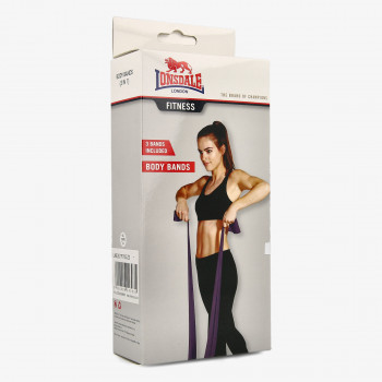 Fitness rekvizit LNSD BODY BANDS (3 in 1)