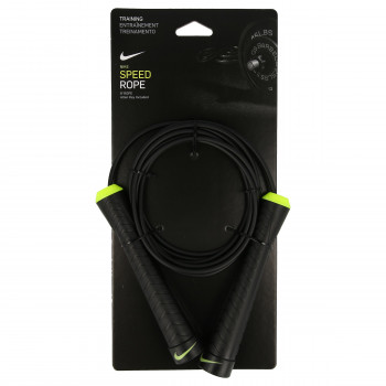 NIKE Vijača NIKE FUNDAMENTAL SPEED ROPE BLACK/VOLT