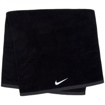 NIKE Peškir NIKE FUNDAMENTAL TOWEL L BLACK/WHITE