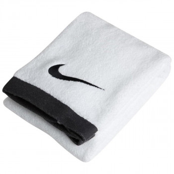 NIKE Peškir NIKE FUNDAMENTAL TOWEL L WHITE/ BLACK