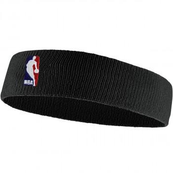 JR NIKE Znojnica NIKE HEADBAND NBA BLACK/BLACK