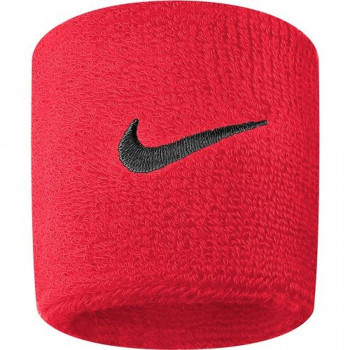 JR NIKE Znojnica NIKE SWOOSH WRISTBANDS SIREN RED/PORT WI