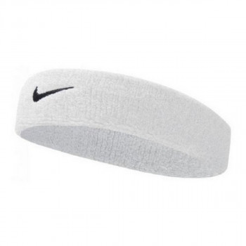 JR NIKE Znojnica NIKE DRI-FIT HEADBAND 2.0 WHITE/BLACK