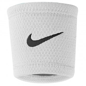 NIKE Znojnica NIKE DRI-FIT STEALTH WRISTBANDS WHITE/WO