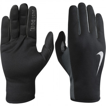 NIKE Rukavice NIKE MEN'S RALLY RUN GLOVES 2.0 S BLACK/