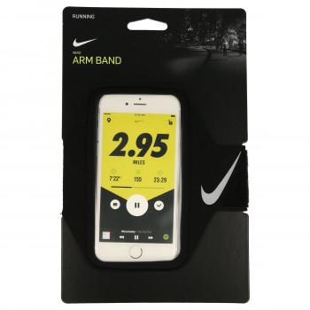 NIKE Torbica za mobilni NIKE LEAN ARM BAND BLACK/BLACK/SILVER