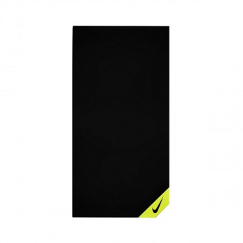 NIKE Peškir NIKE COOLING SMALL TOWEL BLACK/VOLT