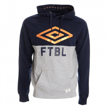 UMBRO Dukserica UMBRO FTBL HOODED TOP