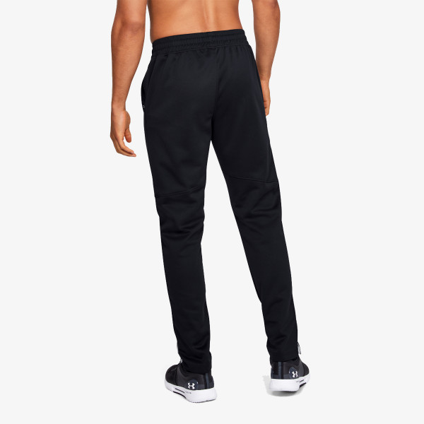 UNDER ARMOUR Donji dio trenerke Athlete Recovery Knit Warm Up Bottom