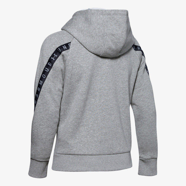 UNDER ARMOUR Dukserica Fleece Taped WM FZ Hoodie