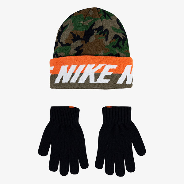 NIKE Set NAN WORD MARK BEANIE & GLOVE