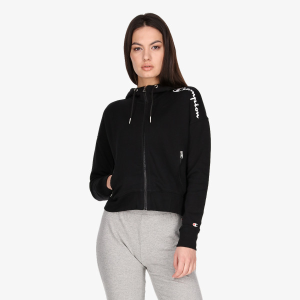 CHAMPION Dukserica LADY COLOR BLOCK FULL ZIP HOODY