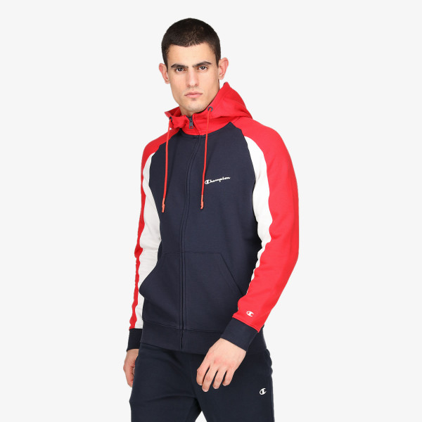 CHAMPION Dukserica COLOR BLOCK FULL ZIP HOODY