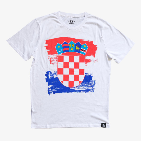 UMBRO Majica CROATIA FLAG T SHIRT