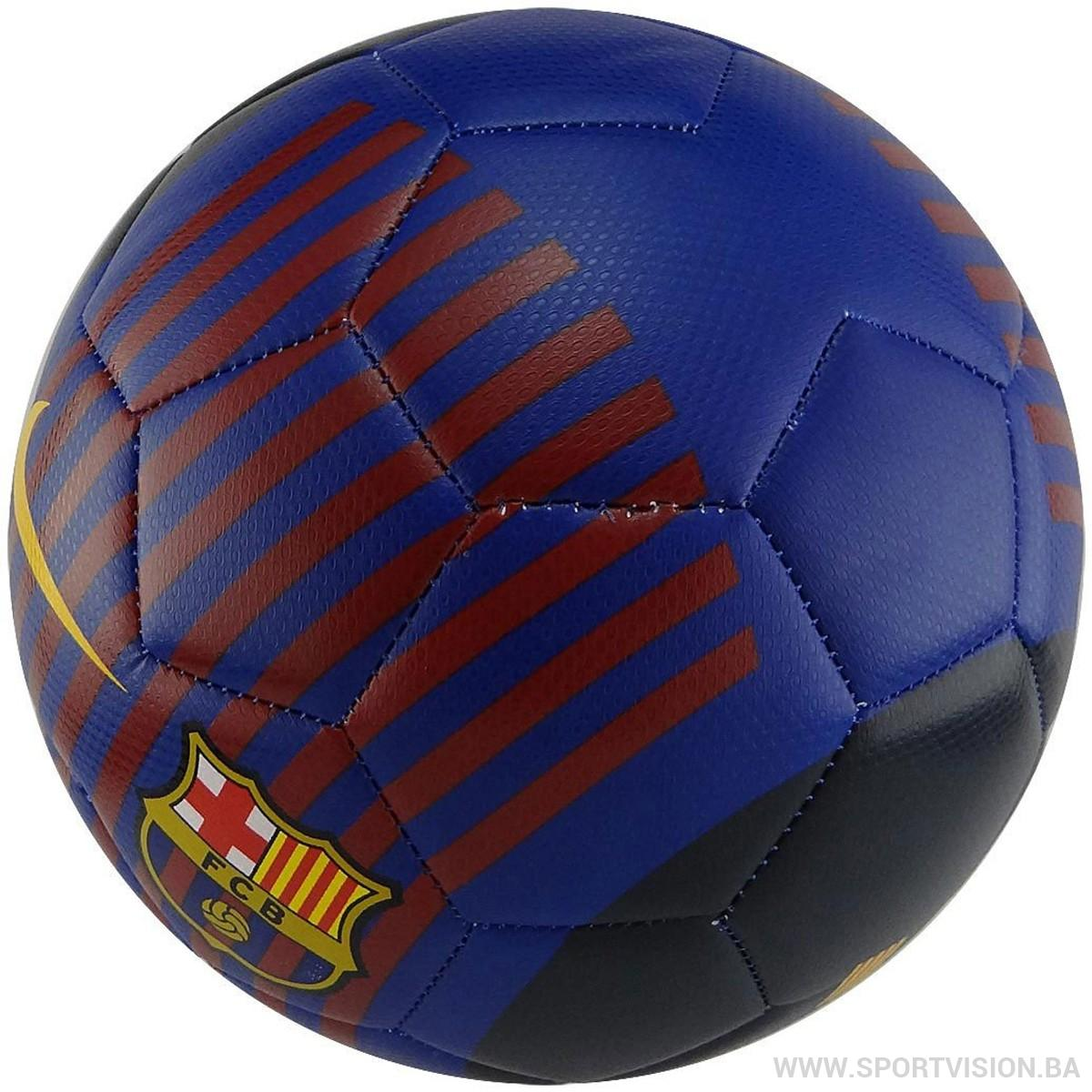 NIKE Lopta FCB NK PRSTG - FA18
